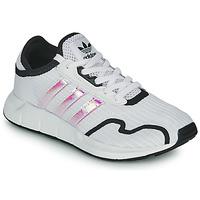 Obuća Djevojčica Niske tenisice adidas Originals SWIFT RUN X J Bijela