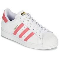 Obuća Žene  Niske tenisice adidas Originals SUPERSTAR W Bijela / Ružičasta