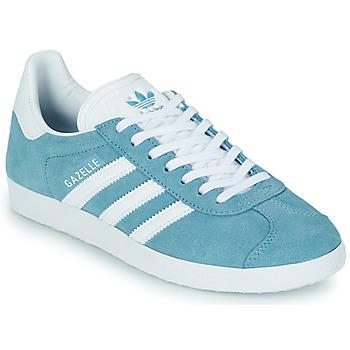 Obuća Žene  Niske tenisice adidas Originals GAZELLE W Blue