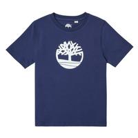 Odjeća Dječak  Majice kratkih rukava Timberland TRISTA Blue