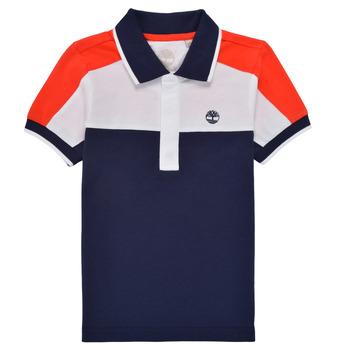 Odjeća Dječak  Polo majice kratkih rukava Timberland MAMMA Multicolour