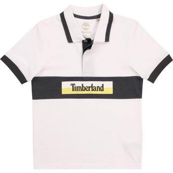 Odjeća Dječak  Polo majice kratkih rukava Timberland DOTTO Bijela