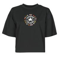 Odjeća Žene  Majice kratkih rukava Converse CHUCK WOMENS WANDER TANK Crna