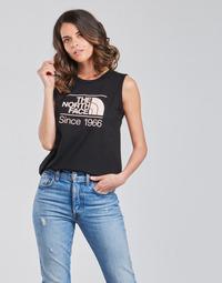 Odjeća Žene  Majice s naramenicama i majice bez rukava The North Face W SEASONAL GRAPHIC TANK Crna