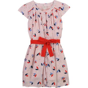 Odjeća Djevojčica Kratke haljine Carrément Beau Y12246-44L Ružičasta