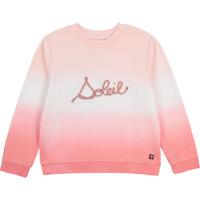 Odjeća Djevojčica Sportske majice Carrément Beau Y15373-N44 Bijela / Ružičasta
