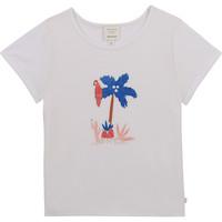 Odjeća Djevojčica Majice kratkih rukava Carrément Beau Y15383-10B Bijela