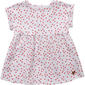 Odjeća Djevojčica Kratke haljine Carrément Beau Y92119-10B Bijela