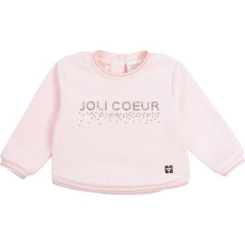 Odjeća Djevojčica Sportske majice Carrément Beau Y95254-44L Ružičasta