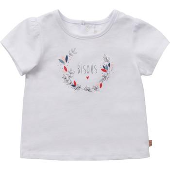 Odjeća Djevojčica Majice kratkih rukava Carrément Beau Y95270-10B Bijela
