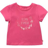 Odjeća Djevojčica Majice kratkih rukava Carrément Beau Y95270-46C Ružičasta