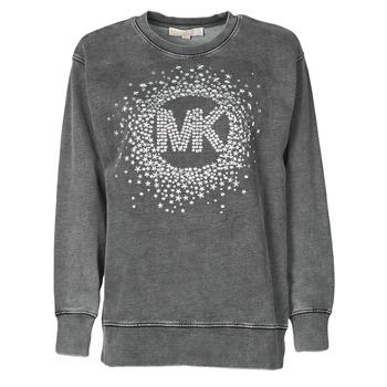 Odjeća Žene  Sportske majice MICHAEL Michael Kors ACID WSH MK STAR STUD Crna