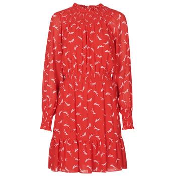 Odjeća Žene  Kratke haljine MICHAEL Michael Kors SIGNATRE LOGO SMCK DR Red