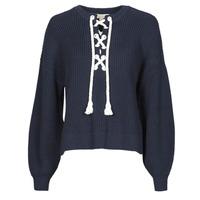 Odjeća Žene  Puloveri MICHAEL Michael Kors EASY ROPE LACE SWTR Blue