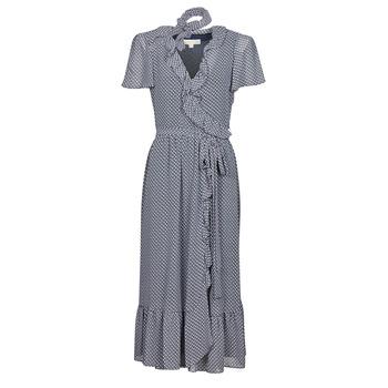 Odjeća Žene  Duge haljine MICHAEL Michael Kors MINI BICOLR 60S FLRL DRS Blue