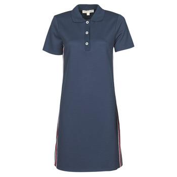 Odjeća Žene  Kratke haljine MICHAEL Michael Kors SS LOGO TAPE POLO DRS Blue