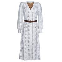 Odjeća Žene  Duge haljine MICHAEL Michael Kors ROPE STRIPES HEMP DS Bijela
