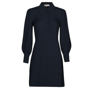 Odjeća Žene  Kratke haljine MICHAEL Michael Kors VI SATIN MINI DRESS Blue