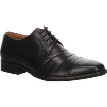 Obuća Muškarci  Derby cipele Salamander Henley Flats Black