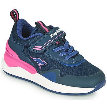 Obuća Djevojčica Niske tenisice Kangaroos KD-GYM EV Blue / Ružičasta