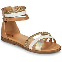 Obuća Djevojčica Sandale i polusandale Bullboxer ALM013F1S-GOLD Smeđa