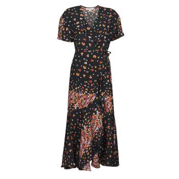 Odjeća Žene  Duge haljine Derhy SUEDE Crna / Multicolour