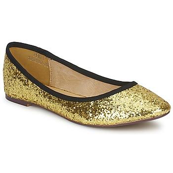 Obuća Žene  Balerinke i Mary Jane cipele Friis & Company PERLA Zlatna