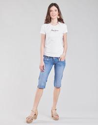 Odjeća Žene  Hlače 3/4 i 7/8 Pepe jeans VENUS CROP Blue