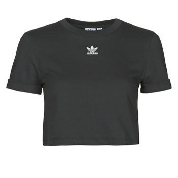 Odjeća Žene  Majice kratkih rukava adidas Originals CROP TOP Crna