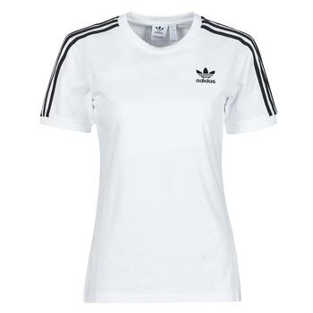Odjeća Žene  Majice kratkih rukava adidas Originals 3 STRIPES TEE Bijela