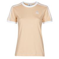 Odjeća Žene  Majice kratkih rukava adidas Originals 3 STRIPES TEE Narančasta
