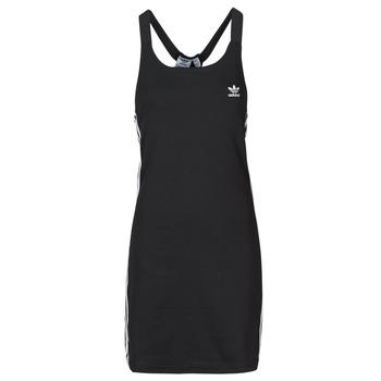 Odjeća Žene  Kratke haljine adidas Originals RACER B DRESS Crna