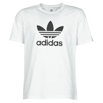 Odjeća Muškarci  Majice kratkih rukava adidas Originals TREFOIL T-SHIRT Bijela