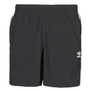 Odjeća Muškarci  Kupaći kostimi / Kupaće gaće adidas Originals 3-STRIPE SWIMS Crna