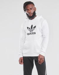 Odjeća Muškarci  Sportske majice adidas Originals TREFOIL HOODIE Bijela