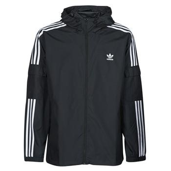 Odjeća Muškarci  Vjetrovke adidas Originals 3-STRIPES WB FZ Crna