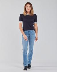 Odjeća Žene  Traperice ravnog kroja Lee MARION STRAIGHT Blue