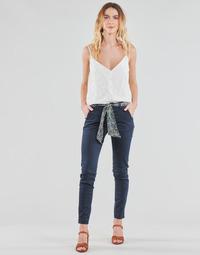 Odjeća Žene  Chino hlačei hlače mrkva kroja Le Temps des Cerises LIDY Blue
