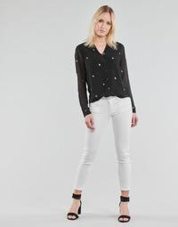 Odjeća Žene  Chino hlačei hlače mrkva kroja Le Temps des Cerises PULP HILL Bijela