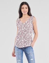 Odjeća Žene  Topovi i bluze Le Temps des Cerises ALEKSA Bijela