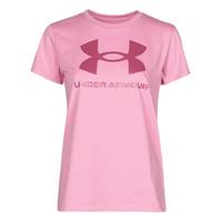 Odjeća Žene  Majice kratkih rukava Under Armour LIVE SPORTSTYLE GRAPHIC SSC Ružičasta