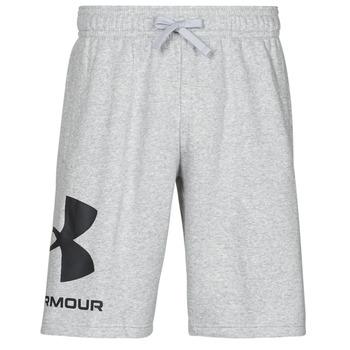 Odjeća Muškarci  Bermude i kratke hlače Under Armour UA RIVAL FLC BIG LOGO SHORTS Siva