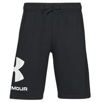 Odjeća Muškarci  Bermude i kratke hlače Under Armour UA RIVAL FLC BIG LOGO SHORTS Crna