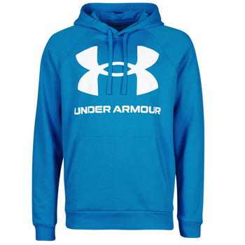 Odjeća Muškarci  Sportske majice Under Armour UA RIVAL FLEECE BIG LOGO HD Blue