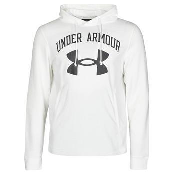Odjeća Muškarci  Sportske majice Under Armour UA RIVAL FLEECE BIG LOGO HD Bijela