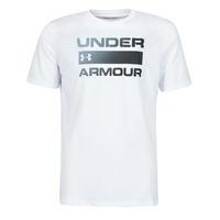 Odjeća Muškarci  Majice kratkih rukava Under Armour UA TEAM ISSUE WORDMARK SS Bijela