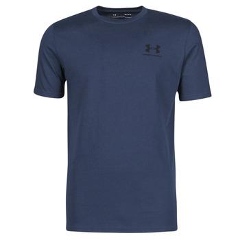 Odjeća Muškarci  Majice kratkih rukava Under Armour UA SPORTSTYLE LC SS Blue