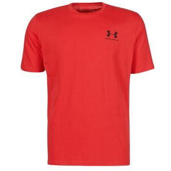 Odjeća Muškarci  Majice kratkih rukava Under Armour UA SPORTSTYLE LC SS Red