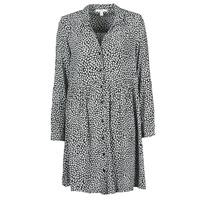 Odjeća Žene  Duge haljine Esprit ROBE PRINT Crna