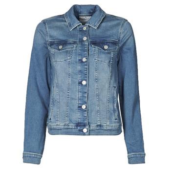 Odjeća Žene  Traper jakne Esprit JOGGER JACKET Blue